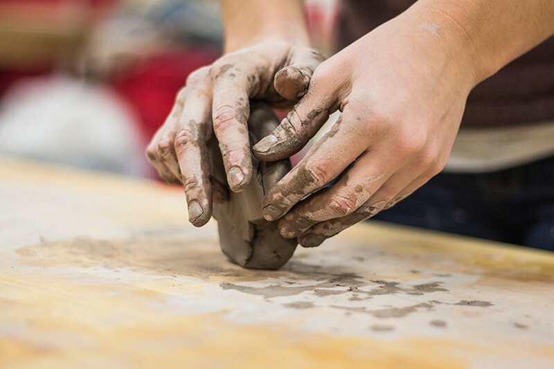Art therapy Clay